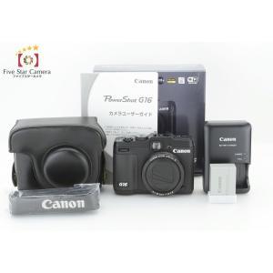 【中古】Canon キヤノン PowerShot G16 コンパクトデジタルカメラ|five-star-camera