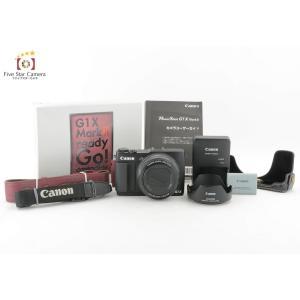 【中古】Canon キヤノン Power Shot G1 X Mark II コンパクトデジタルカメラ|five-star-camera