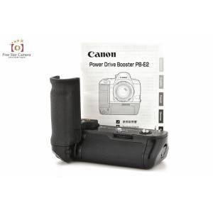 【中古】Canon キヤノン PB-E2 バッテリーグリップ five-star-camera