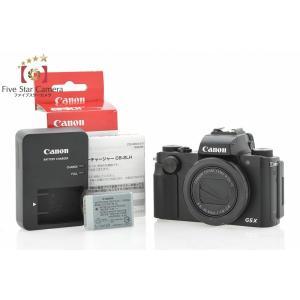 【中古】Canon キヤノン Power Shot G5 X コンパクトデジタルカメラ|five-star-camera