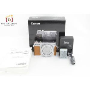【中古】Canon キヤノン PowerShot G9 X Mark II シルバー|five-star-camera