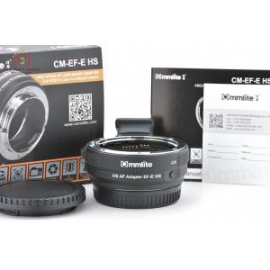 【中古】Commlite コムライト CM-EF-E HS Canon EFレンズ → SONY Eマウントアダプター five-star-camera
