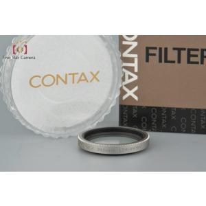 【中古】CONTAX コンタックス 30.5mm L39 UVフィルター シルバー five-star-camera