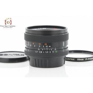 【中古】CONTAX コンタックス Carl Zeiss Planar 50mm f/1.7 T* MMJ|five-star-camera