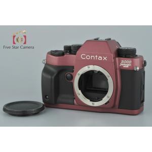 【中古】CONTAX コンタックス RX 2000年記念モデル エレガントローズxブラックラバー|five-star-camera