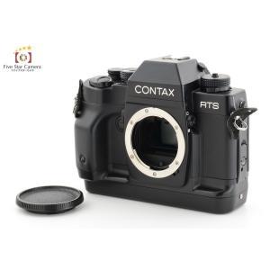 【中古】CONTAX コンタックス RTS III フィルム一眼レフカメラ