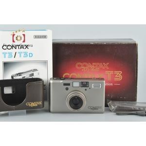 【中古】CONTAX コンタックス T3 70周年記念モデル|five-star-camera