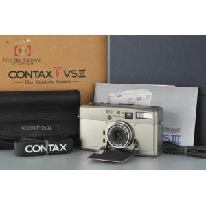 【中古】CONTAX コンタックス TVS III コンパクトフィルムカメラ