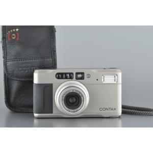 【中古】CONTAX コンタックス TVS II コンパクトフィルムカメラ