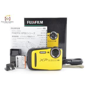 【中古】FUJIFILM 富士フイルム  FINEPIX XP90 イエロー コンパクトデジタルカメラ B|five-star-camera