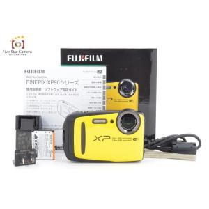 【中古】FUJIFILM 富士フイルム  FINEPIX XP90 イエロー コンパクトデジタルカメラ C|five-star-camera