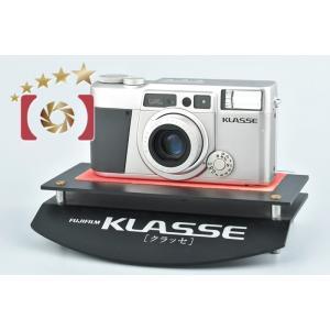 【中古】FUJIFILM 富士フイルム KLASSE シルバー コンパクトフィルムカメラ