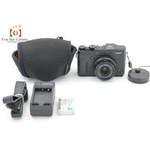 【中古】FUJIFILM 富士フイルム X30 ブラック コンパクトデジタルカメラ|five-star-camera