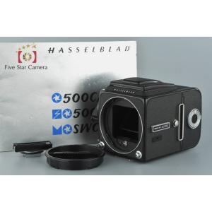 【中古】HASSELBLAD ハッセルブラッド 500C/M ブラック 中判フィルムカメラ