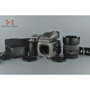 【中古】HASSELBLAD ハッセルブラッド H2 + FUJINON HC 80mm f/2.8 未使用フィルムマガジン付属