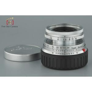 【中古】Leica ライカ ELMAR 50mm f/2.8 沈胴式 ライカMマウント