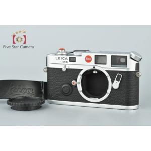 【中古】Leica ライカ M6 クローム レンジファインダーフィルムカメラ