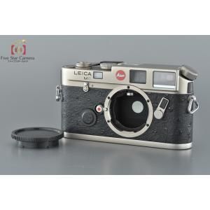 【中古】Leica ライカ M6 チタン レンジファインダーフィルムカメラ