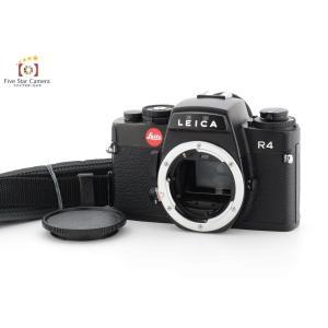 【中古】Leica ライカ R4 ブラック フィルム一眼レフカメラ