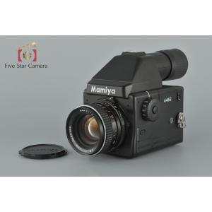 【中古】Mamiya マミヤ 645E + SEKOR C E 70mm f/2.8
