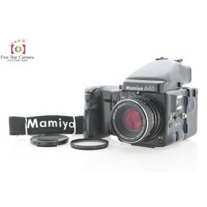 【中古】Mamiya マミヤ 645 PRO + SEKOR C 80mm f/2.8