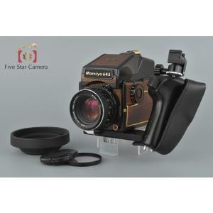【中古】Mamiya マミヤ M645 1000S ゴールド + SEKOR C 80mm f/2.8