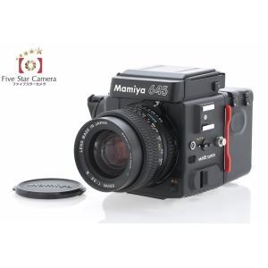 【中古】Mamiya マミヤ M645 SUPER + SEKOR C 55mm f/2.8 N