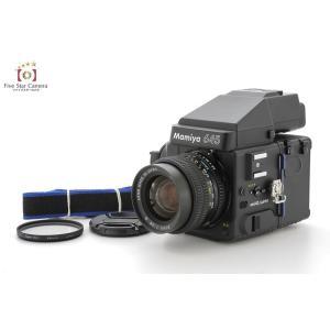 【中古】Mamiya マミヤ M645 SUPER + SEKOR C 55mm f/2.8 N + AEプリズムファインダー