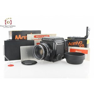 【中古】Mamiya マミヤ RB67 PRO + SEKOR 127mm f/3.8|five-star-camera