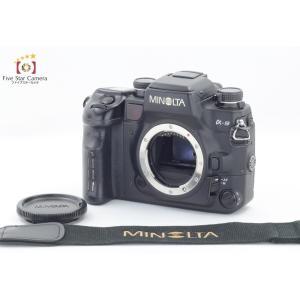 【中古】MINOLTA ミノルタ α-9 フィルム一眼レフカメラ QD-9データバック付属
