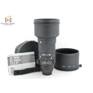 【中古】Nikon ニコン AF NIKKOR ED 300mm f/2.8|five-star-camera