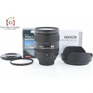【中古】Nikon ニコン AF-S NIKKOR 24-120mm f/4 G ED VR|five-star-camera