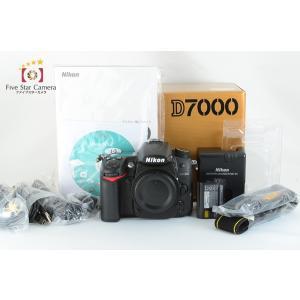 【中古】 Nikon ニコン D7000 デジタル一眼レフ 元箱付