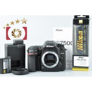 【中古】Nikon ニコン D7500 デジタル一眼レフカメラ