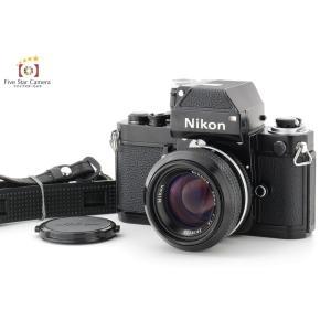 【中古】Nikon ニコン F2 フォトミック ブラック + New NIKKOR 50mm f/1.4