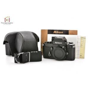 【中古】Nikon ニコン F2 フォトミックAS ブラック 後期シリアル794〜