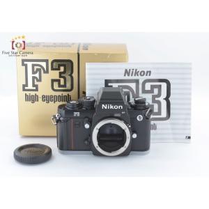 【中古】Nikon ニコン F3 HP フィルム一眼レフカメラ 後期シリアル199~ 元箱付