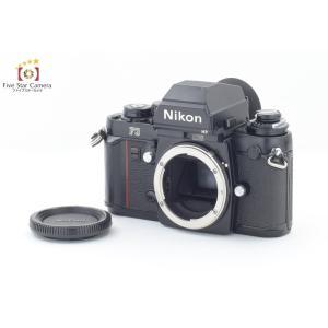 【中古】Nikon ニコン F3 HP フィルム一眼レフカメラ 初期レザーグリップ