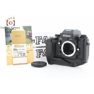 【中古】Nikon ニコン F4S フィルム一眼レフカメラ