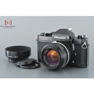 【中古】Nikon ニコン Nikomat FT2 ブラック + New NIKKOR 50mm f/1.4
