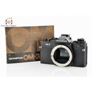 【中古】OLYMPUS オリンパス OM-3 フィルム一眼レフカメラ