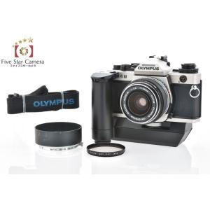 【中古】OLYMPUS オリンパス OM-4T チタンカラー + G.ZUIKO AUTO-W 35mm f/2.8 海外輸出モデル