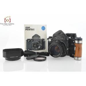【中古】PENTAX ペンタックス 6x7 TTLファインダー + SMC TAKUMAR 6x7 105mm f/2.4