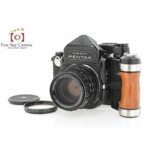 【中古】PENTAX ペンタックス 6x7 TTLファインダー + SMC TAKUMAR 105mm f/2.4