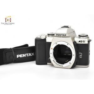 【中古】PENTAX ペンタックス MZ-5 シルバー フィルム一眼レフカメラ