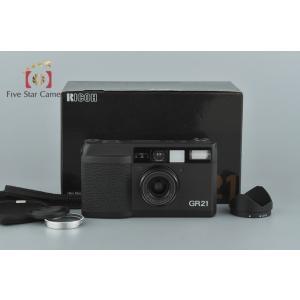 【中古】RICOH リコー GR21 コンパクトフィルムカメラ