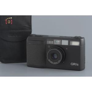 【中古】RICOH リコー GR1S ブラック コンパクトフィルムカメラ