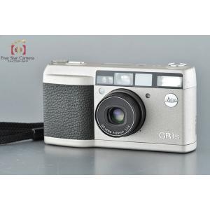 【中古】RICOH リコー GR1s シルバー コンパクトフィルムカメラ