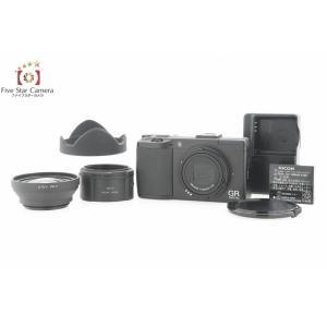 【中古】RICOH リコー GR DIGITAL III コンパクトデジタルカメラ|five-star-camera