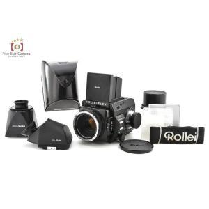 【中古】Rollei ローライ 66SE + HFT Planar 80mm f/2.8 +プリズムファインダー